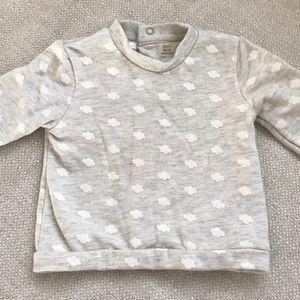 Zara Mini Cloud Sweatshirt